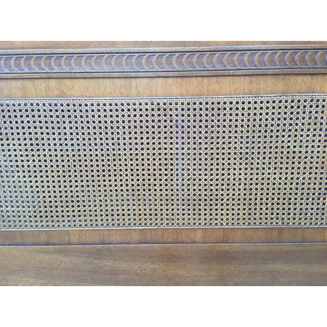 1970s Federal Style Henredon King Size Headboard For Sale - Image 10 of 12
