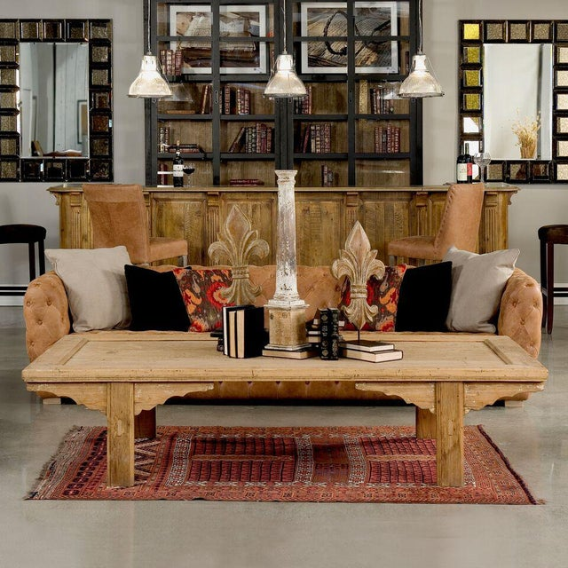 Sarreid Ltd Far Away Coffee Table - Image 9 of 9