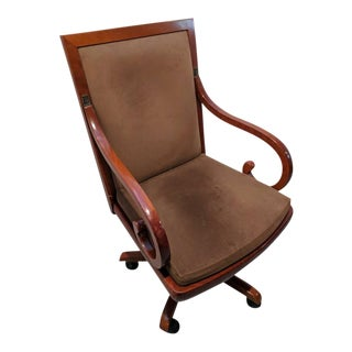 Suede Upholstered Grange Executive Chair