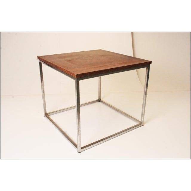 Davis Furniture Mid-Century Square Side Table