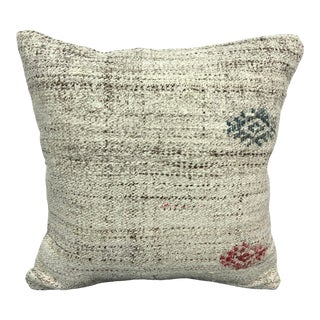 Turkish Tribal Decor Handmade Vintage Pillow Cover For Sale