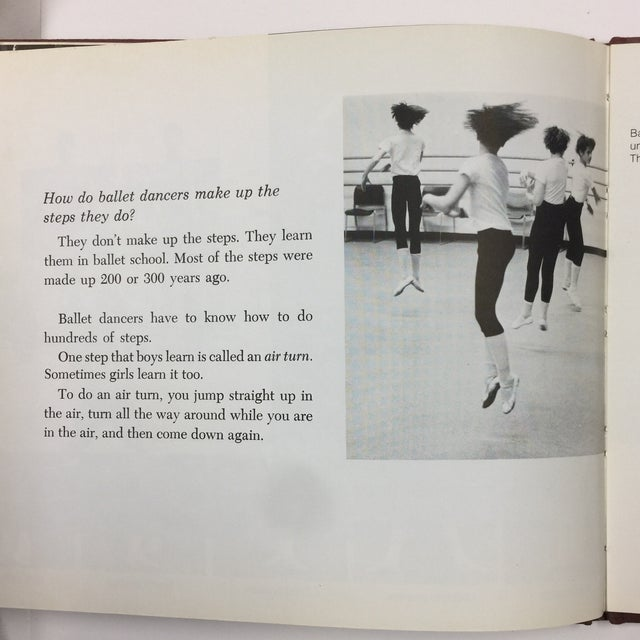 1979 If You Were a Ballet Dancer Book For Sale - Image 9 of 9