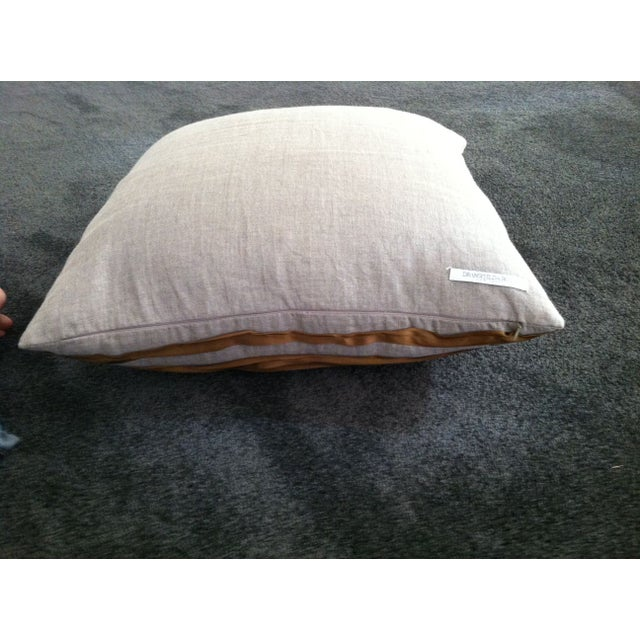 Contemporary Dransfield and Ross Twisted Ribbon Pillow For Sale - Image 3 of 4