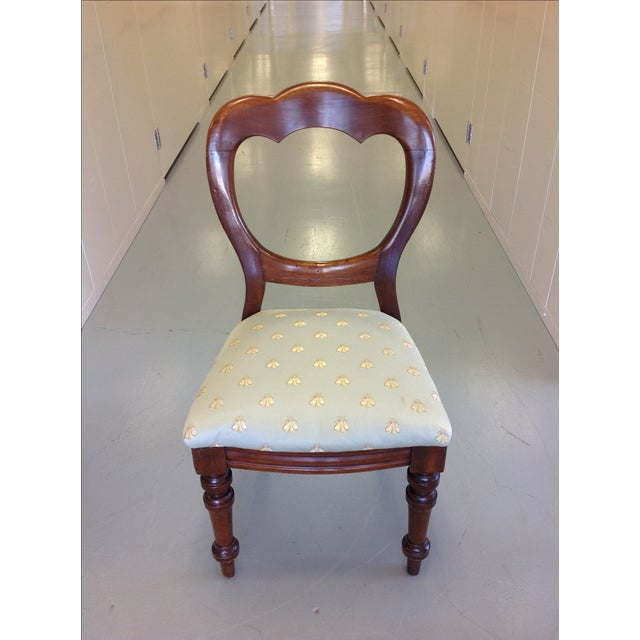 Victorian Balloon Back Chairs - Image 4 of 7