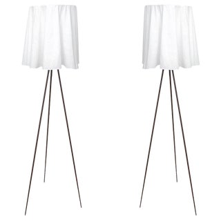 """Philippe Starck """"Rosy Angelis"""" Floor Lamps - a Pair For Sale"""