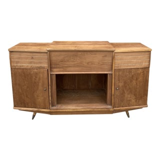 1950s Teak Kuno Record Sideboard For Sale