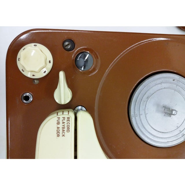 Vintage Collectible Tandberg Radiofabrikk Reel to Reel Tape Recorder For Sale - Image 4 of 10