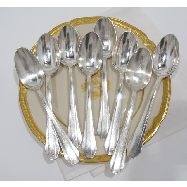 French Grand Hotel Tablespoons - Set of 8 - Image 3 of 4
