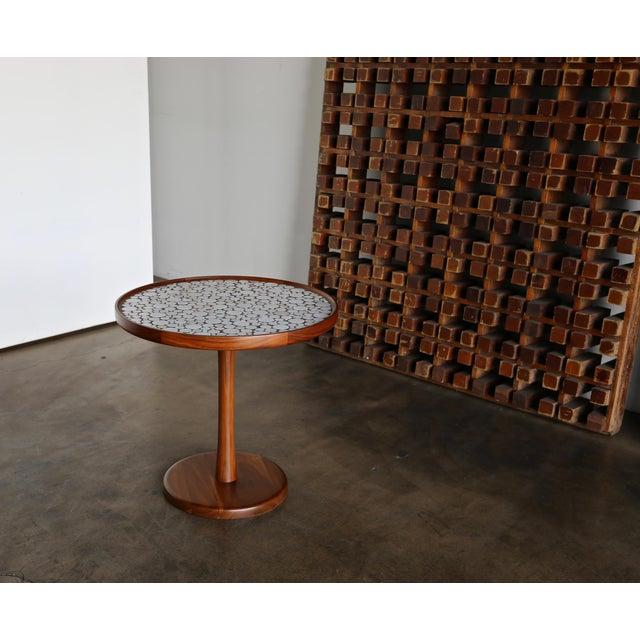 Gordon Martz Ceramic Tile-Top Occasional Table, Circa 1960 For Sale - Image 9 of 11