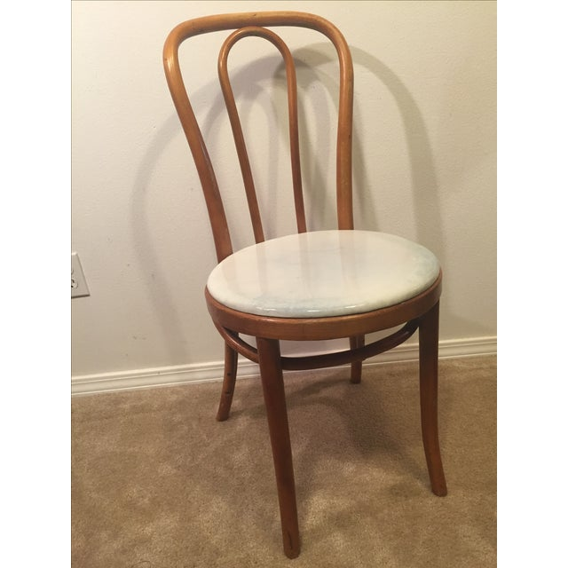 Vintage Thonet Mid-Century Bentwood Chair - Image 3 of 8