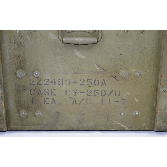 United States Army AAA Gun Site Equipment Crate For Sale - Image 11 of 13