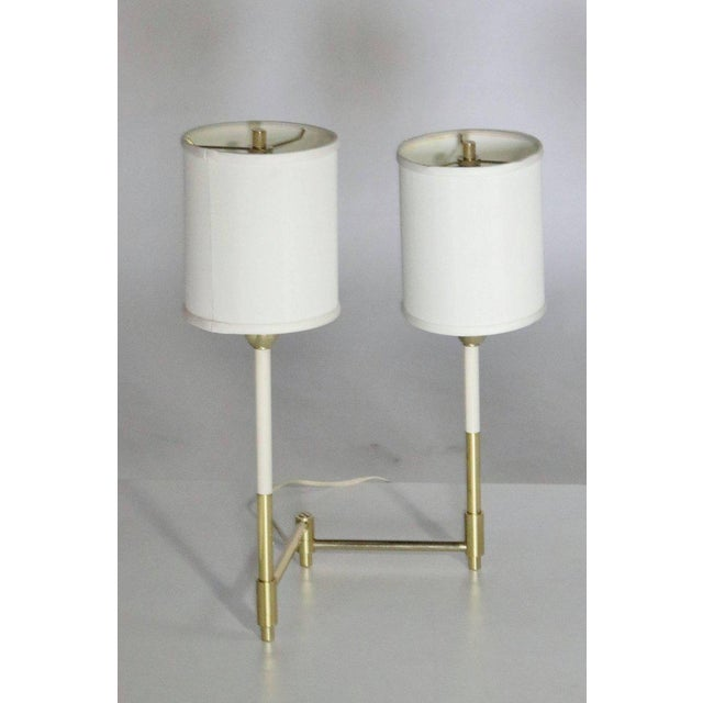 Parzinger Style Table Lamps For Sale In Chicago - Image 6 of 8