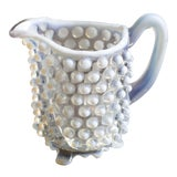 Image of Vintage Small Hobnail Pitcher For Sale