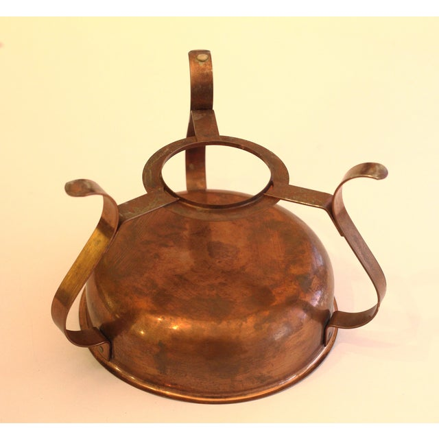 Copper Chafing Dish For Sale - Image 5 of 5