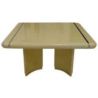1970s Mid-Century Modern Enrique Garcel Off-White Bone Dining Table