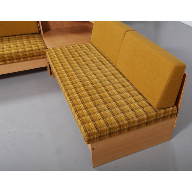 1970s 'Swan' Corner Sofa and Armchair - 2 Pc. Set For Sale - Image 4 of 10