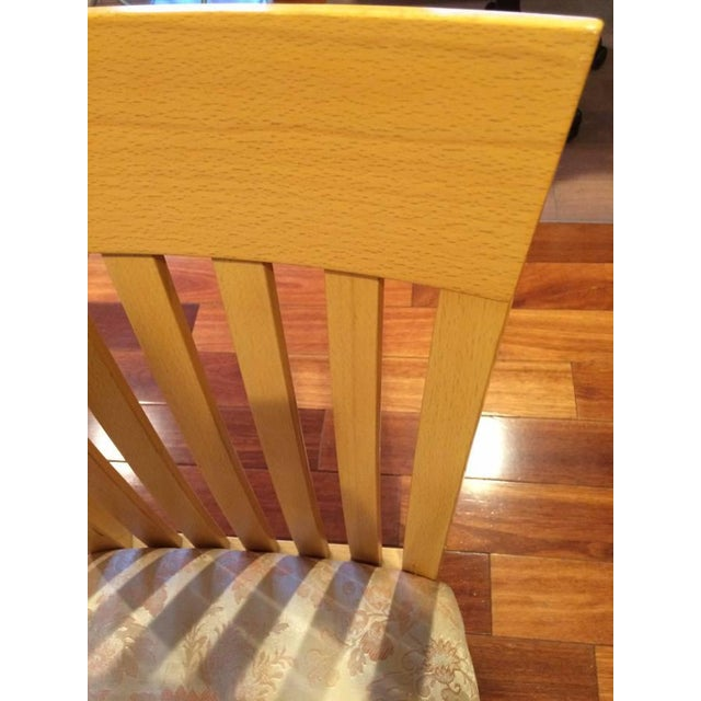 A. Sibau Italian Vintage Dining Room Chairs - Set of 4 - Image 5 of 7