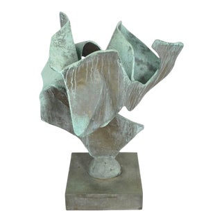 Abstract Bronze Sculpture by William Josef