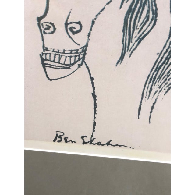 1990s Poster by Renowned Artist Ben Shahn For Sale - Image 5 of 9