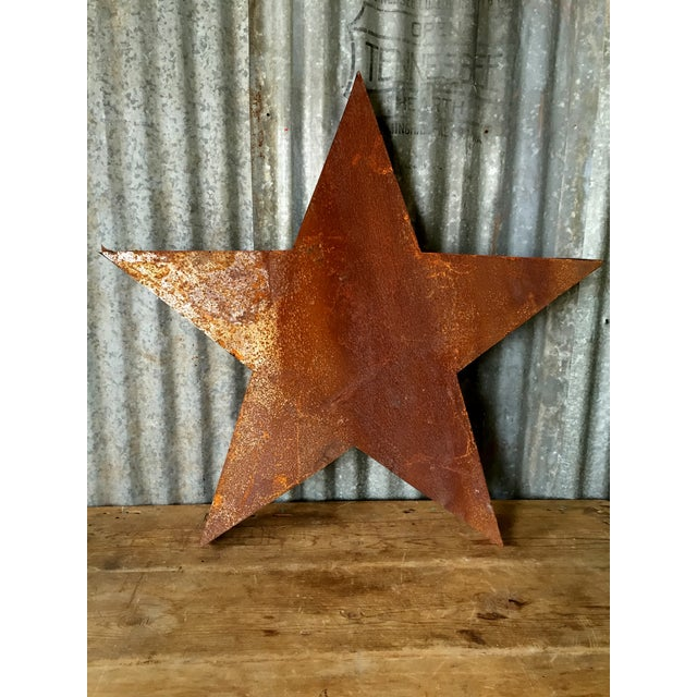 Handcrafted 3D Metal Star - Image 4 of 10