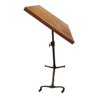 Antique Flip Top Table For Sale