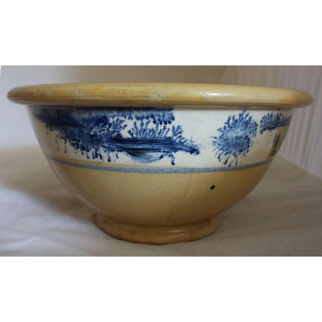 Vintage Ceramic Mixing Bowl For Sale - Image 4 of 6