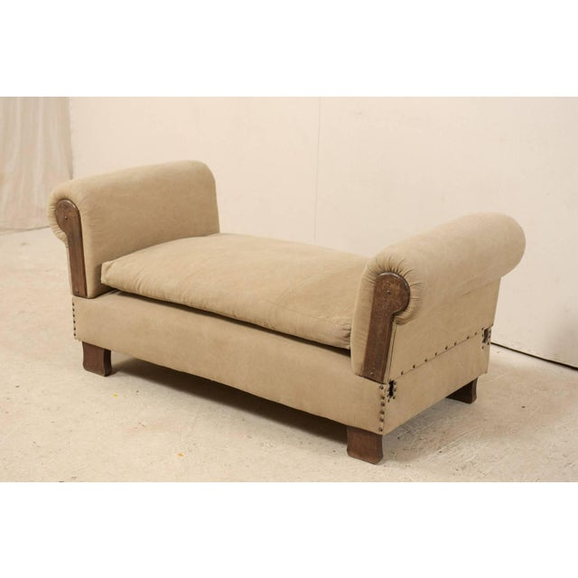 French Lit De Jour 'Daybed' Circa 1920s-1930s With Nice Rounded Arms For Sale In Atlanta - Image 6 of 11