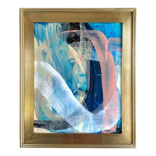 """Jessalin Beutler """"Pacific Palette"""" 2021 Framed Painting For Sale"""