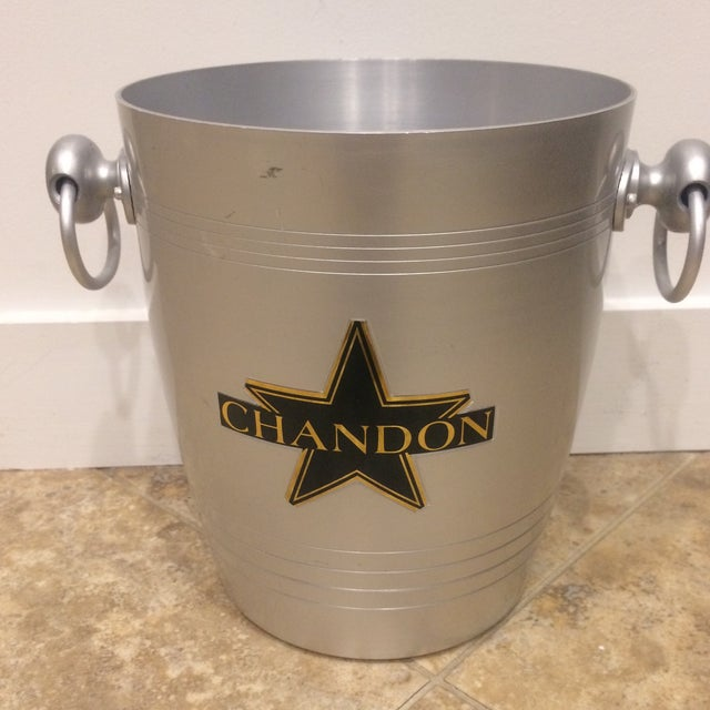 French Chandon Champagne Bucket For Sale - Image 5 of 6