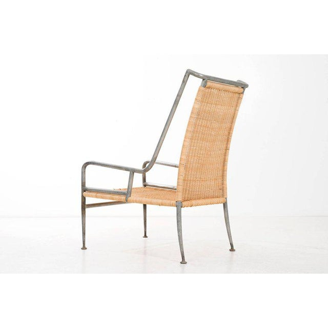 Arturo Pani Prototype Magnesium/ Aluminum Chair For Sale In New York - Image 6 of 7