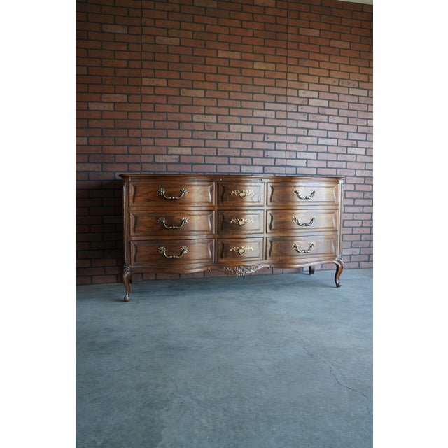 1980s French Provincial Henredon Dresser | Chairish