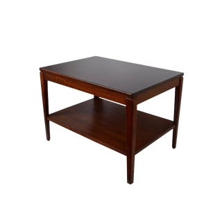 Danish Modern Rosewood Side Table For Sale