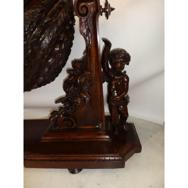 Wood 19th Century Venetian Cradle For Sale - Image 7 of 8