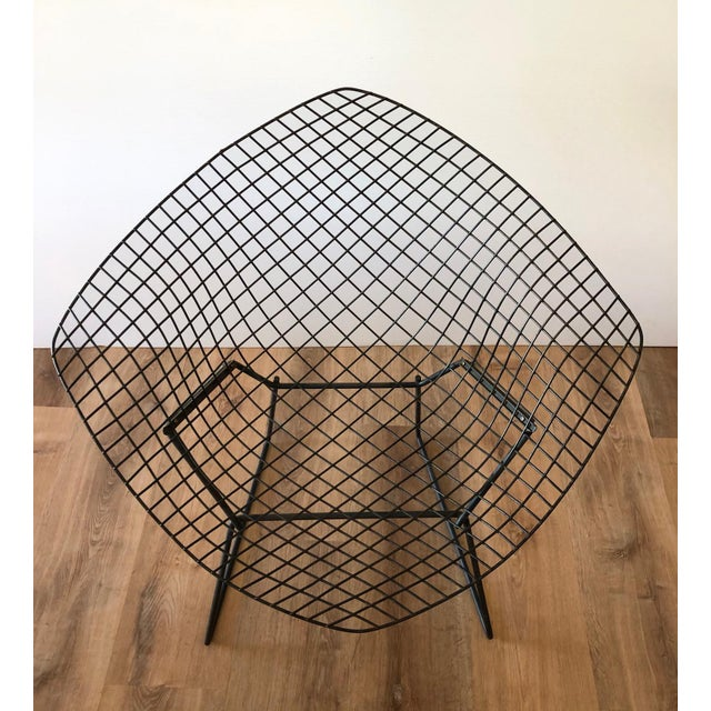 "Mid-Century Modern Mid-Century Harry Bertroia-Designed ""Diamond Chair"" for Knoll For Sale - Image 3 of 10"