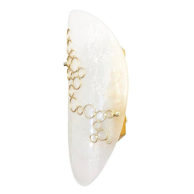 Gaspare Asaro Murano Glass Anelli Wall Light by formA For Sale - Image 4 of 10