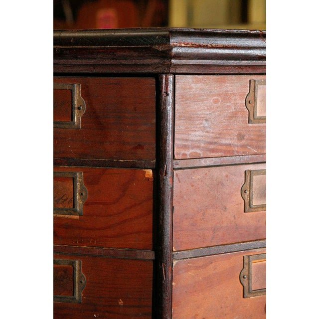 The American School General Store Revolving Cabinet For Sale - Image 3 of 6