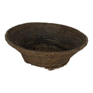 19th Century French Round Gathering Basket - Medium