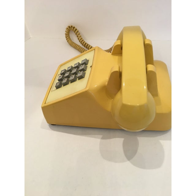 Vintage Bell Western Yellow Desktop Telphone - Image 8 of 9
