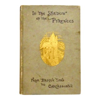 Vintage 1883 in the Shadow of the Pyrenees, Illustrated For Sale
