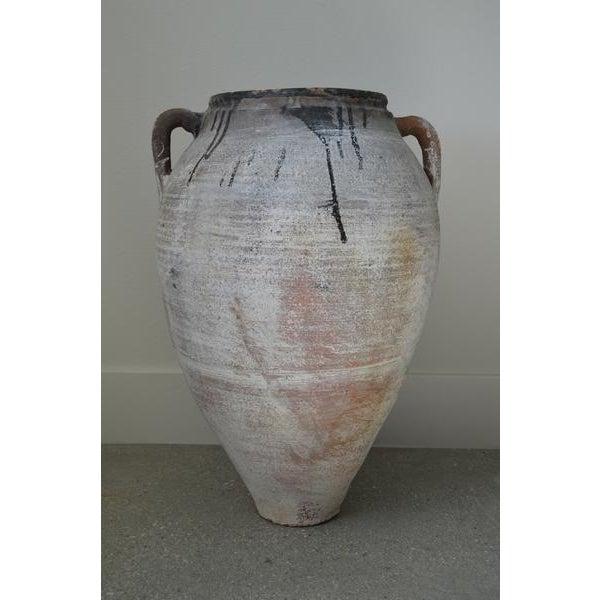 Greek Antique Pottery - Amphora - Image 2 of 3