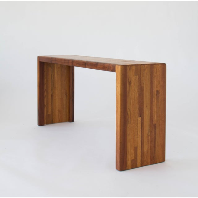 Lou Hodges for California Design Group Solid Wood Console Table For Sale - Image 5 of 11