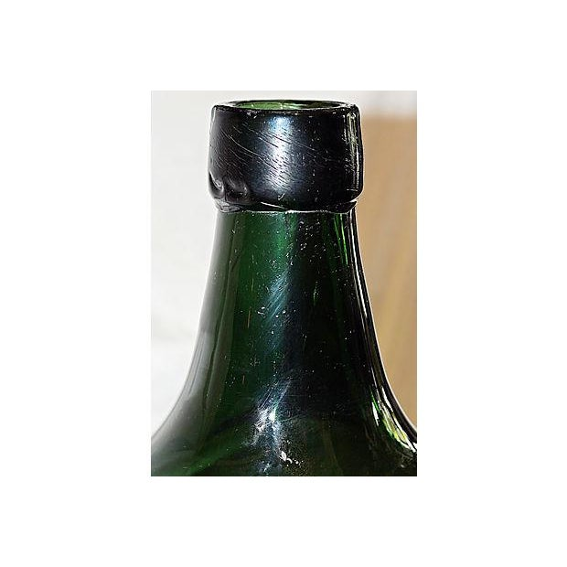 Antique French Demijohn Bottle For Sale - Image 5 of 6