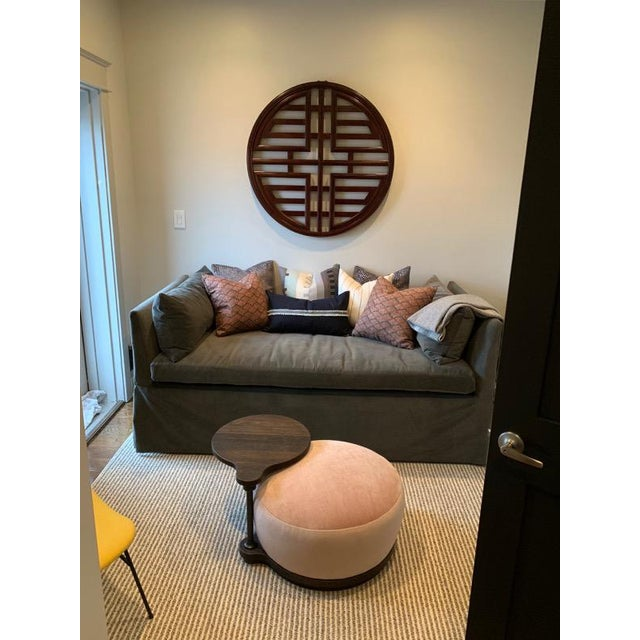 Contemporary Cisco Slipcovered Linda Daybed With Trundle For Sale - Image 3 of 7