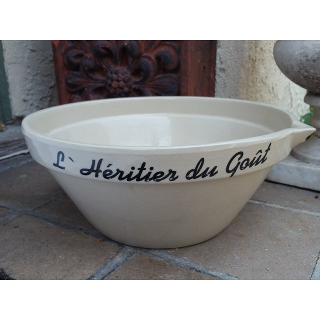 French Charcuterie Mixing Bowl - Image 5 of 5