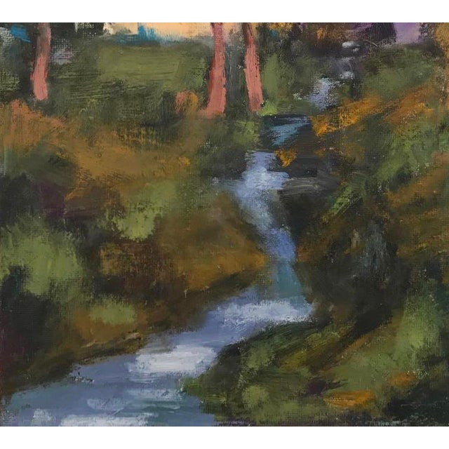 Amador Creek Plein Air Oil Painting For Sale - Image 4 of 6