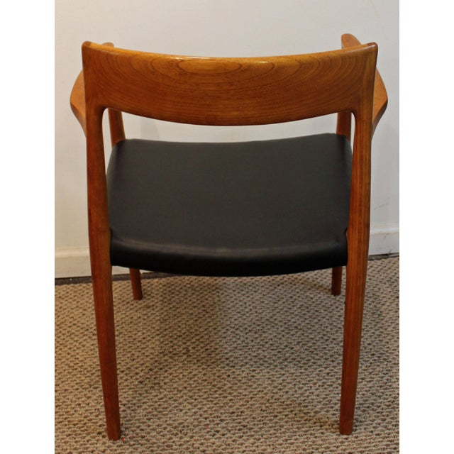 Danish Modern Niels Moller #77 Teak Dining Chairs - Set of 8 For Sale - Image 5 of 11