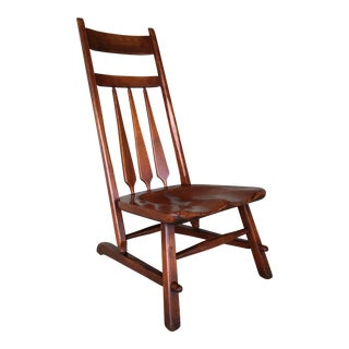 1935 Cushman Colonial Creations Mahoagny Mule Chair For Sale