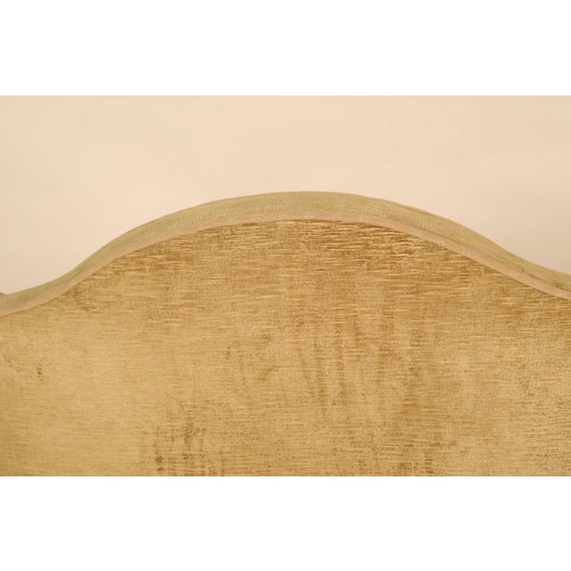 Mid 19th Century Mid 19th Century Antique Camelback Piedmont Sofa For Sale - Image 5 of 9