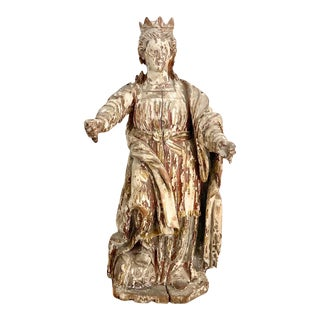17th Century Queen Judith Carving Sculpture For Sale