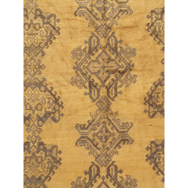 Handwoven in Turkey where rug weaving is the culture rather than a business. Rugs from Oushak are known for the high...